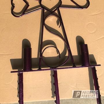 Powder Coated Roadside Cross