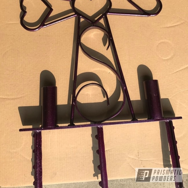 Powder Coating: Clear Vision PPS-2974,Illusion Berry PMB-6907,Roadside Memorial Cross,Miscellaneous