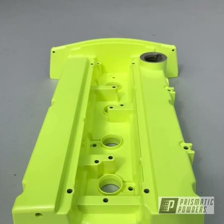 Powder Coating: Automotive,Auto Anthracite Polychem,Honda Yellow PMB-1657,Valve Cover