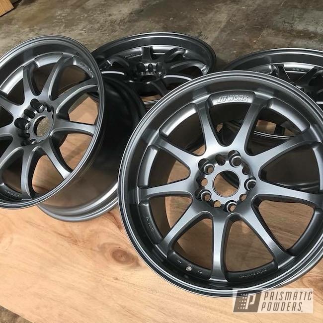 Powder Coating: Wheels,Automotive,Evo Grey PMB-5969
