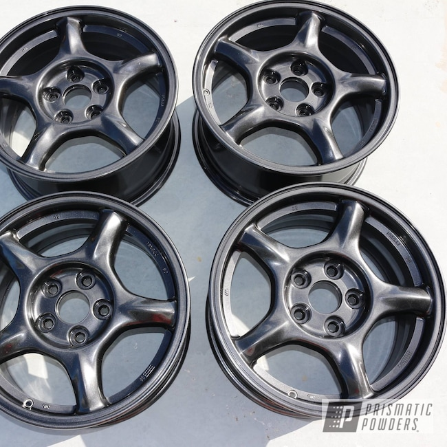 Powder Coating: Wheels,Automotive,Cadillac Grey PMB-6377