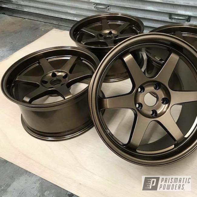 Powder Coating: Wheels,Automotive,Bronze Chrome PMB-4124