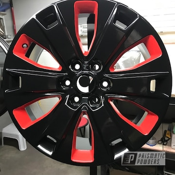 Powder Coated Factory Ford Pickup Wheels Two Toned