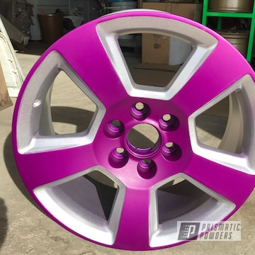 Powder Coated Chevrolet Pickup Wheel