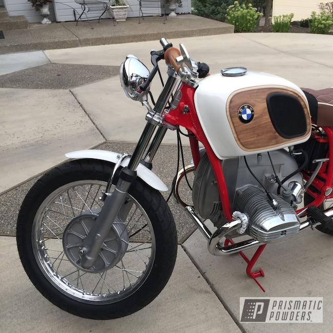 Powder Coating: R60/5,BMW,Motorcycles,Frame,Astatic Red PSS-1738