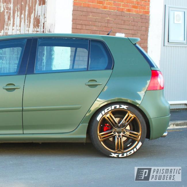Powder Coating: Wheels,Automotive,Golf,Aluminium Wheels,Bronze Chrome PMB-4124,Volkswagen,Escudo,VW