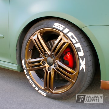 Powder Coated Volkswagen Golf Aluminium Wheels