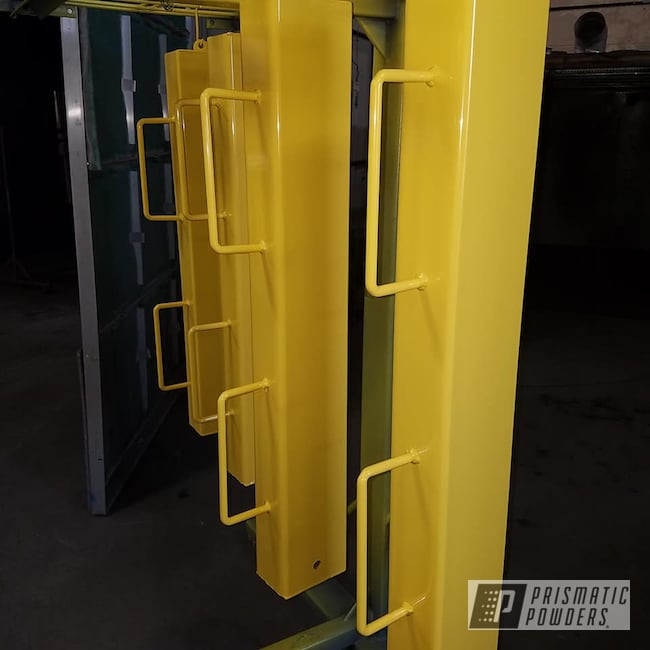 Powder Coating: Industrial,RAL 1018 ZincYellow,Posts