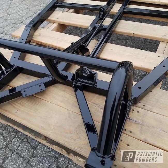 Powder Coating: Automotive,Dune Buggy Frame,Car Frame,Ink Black PSS-0106