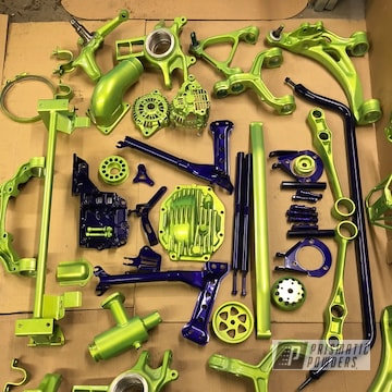 Powder Coated Chassis Parts