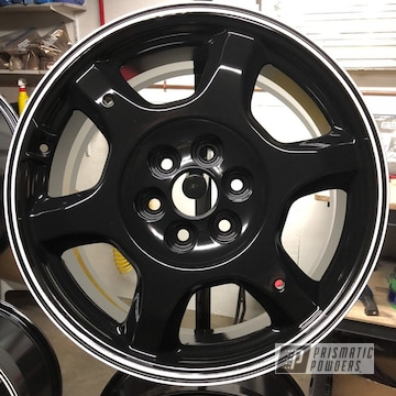 Black Powder Coated Cadillac Wheels