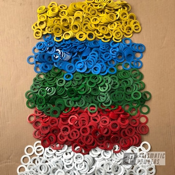 Multi Color Custom Washers