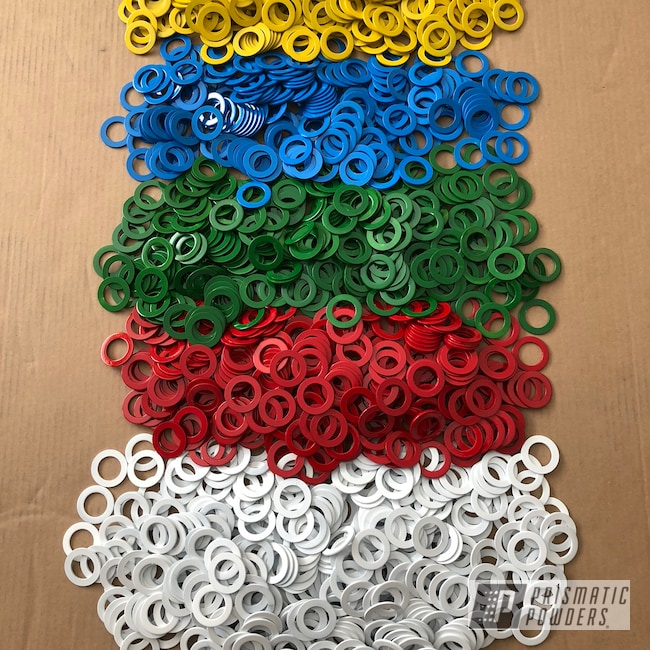 Powder Coating: Really Red PSS-4416,Tractor Green PSS-4517,Playboy Blue PSS-1715,Spring Yellow PSS-0118,Cloud White PSS-0408,Hardware,Washers,Miscellaneous