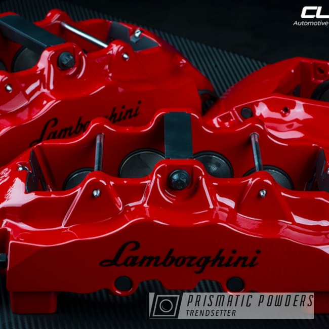 Powder Coated Lamborghini Murcielago Brake Calipers