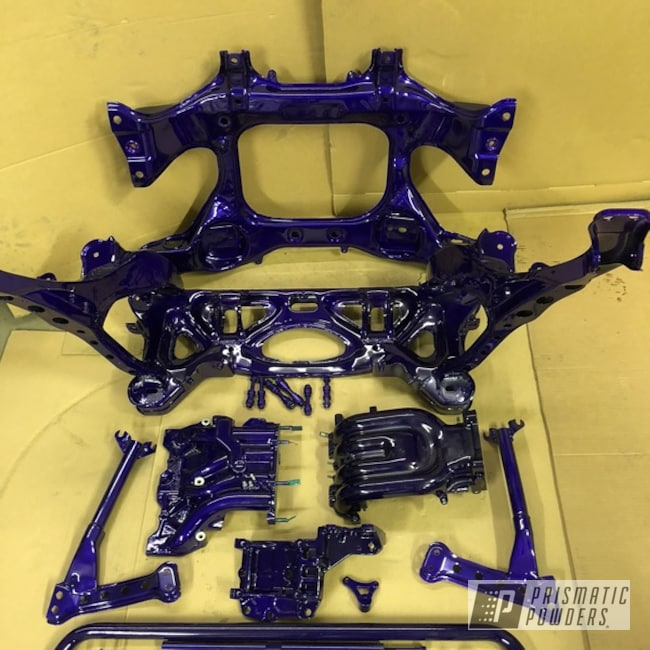 Powder Coating: Illusion Purple PSB-4629,Automotive,Chassis Parts,Clear Vision PPS-2974