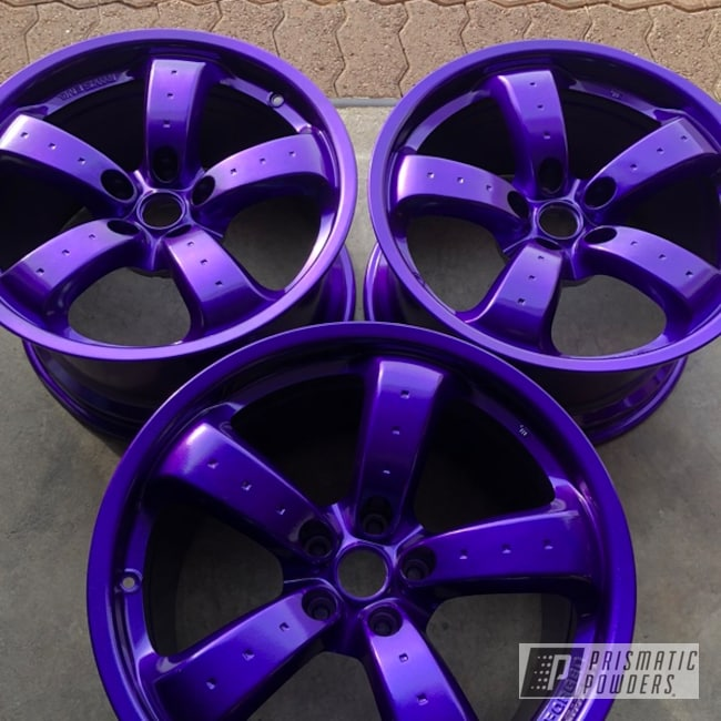 18 Inch Powder Coated Mazda Rx7 Wheels