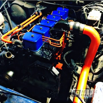 Powder Coated Cummins Engine Parts
