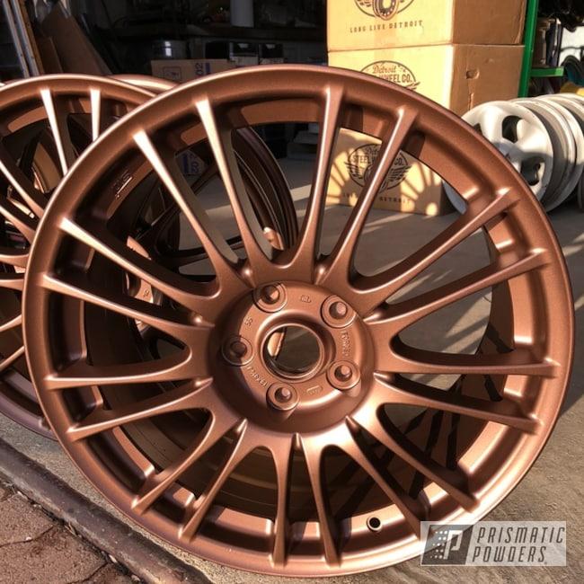 "Powder Coating: Wheels,Automotive,18"",VANDOOZY COPPER UMB-6675,18"" Wheels"