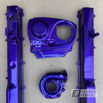 Powder Coated Nissan Engine Parts
