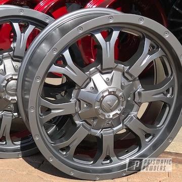 Powder Coated Fuel Wheels