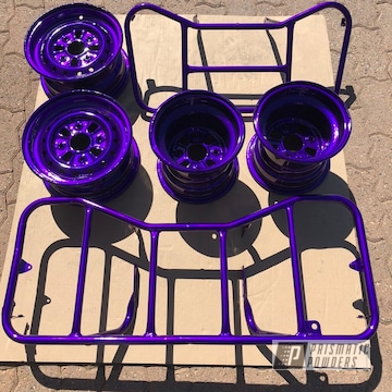 Powder Coated Atv Parts
