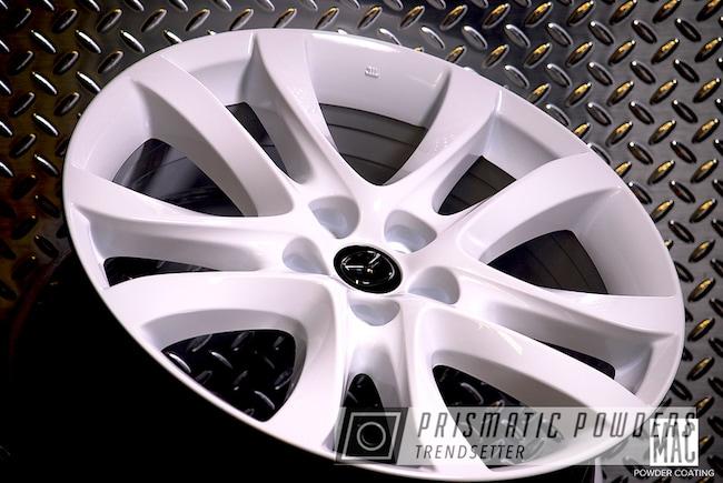 "Powder Coating: Wheels,Automotive,Mazda,20"",Gloss White PSS-5690,20"" Wheels"