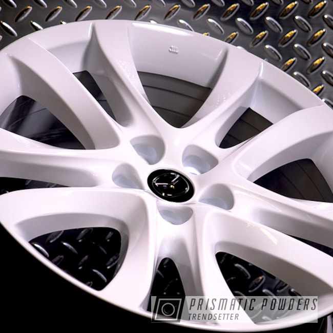 "Powder Coating: Wheels,Automotive,Mazda,20"",Gloss White PSS-5690,20"" Wheels"