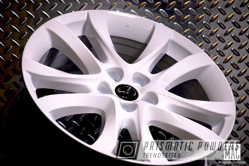 Powder Coated Mazda Wheels