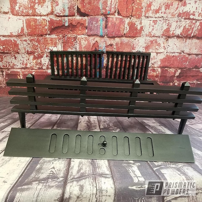 Powder Coating: STERLING BLACK UMB-1204,Fireplace,misc parts,Miscellaneous,Household