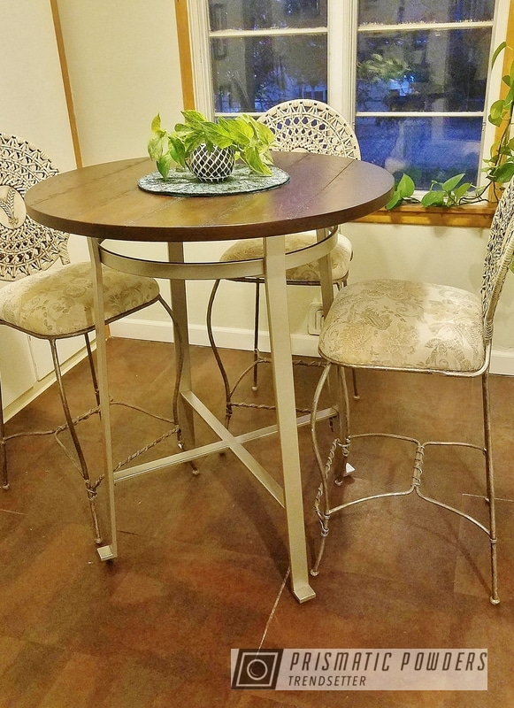 Gold Powder Coated Table Legs