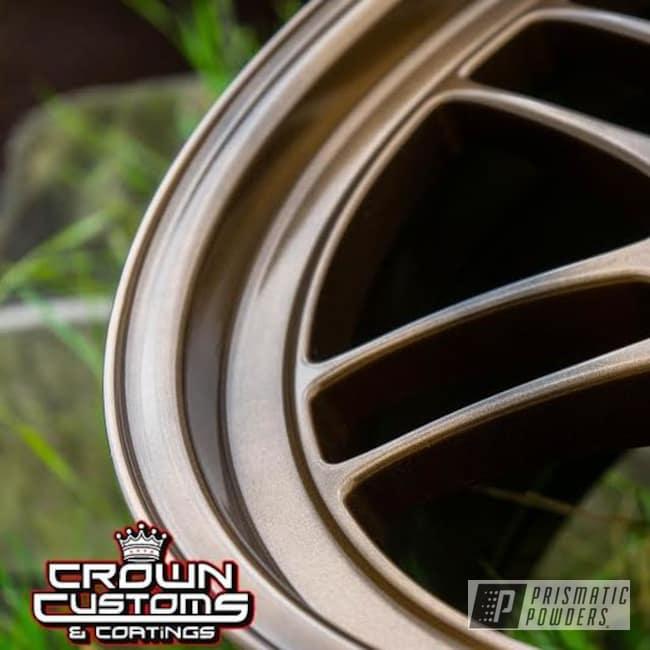 """Powder Coating: Wheels,Automotive,Enkei Wheels,Bronze,Aluminium Wheels,Bronze Chrome PMB-4124,16"""""""