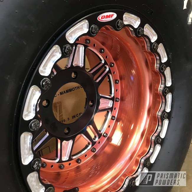 Powder Coating: Wheels,4x4,Clear Vision PPS-2974,4pcs Wheels,UTV,Can-Am Defender,Illusion Rose Gold PMB-10047,Maverick,Can-Am,Defender,4 Wheeler,Aluminum Rim