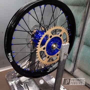 Powder Coated Dirt Bike Wheels