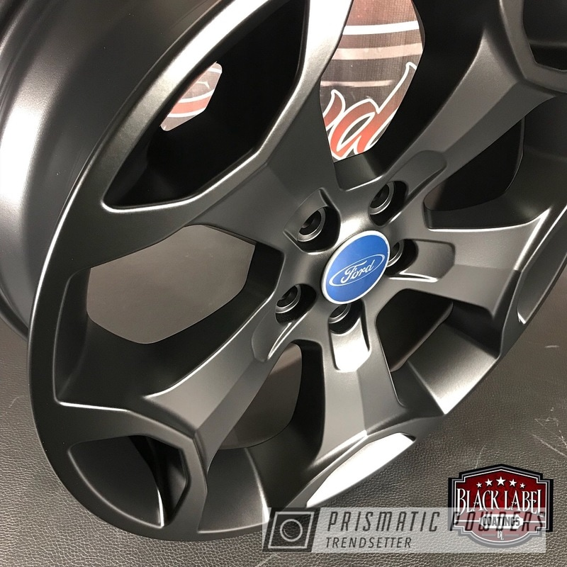 Powder Coated Black Ford Focus Wheels