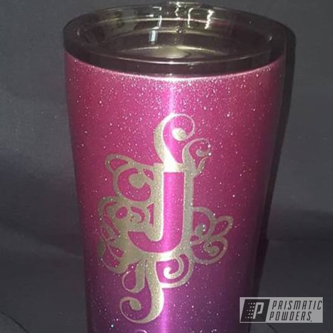 Powder Coating: Shattered Glass PPB-5583,Candy Raspberry PPB-5935,Lollypop Purple PPS-1505,Custom Tumber,Miscellaneous,Ozark Trail,Powder Coated Cup