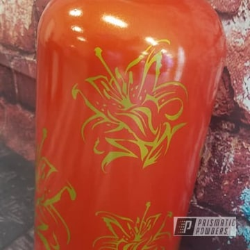 Powder Coated Water Bottle