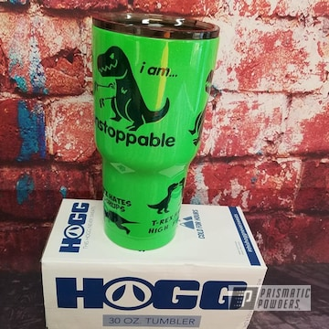 Custom Powder Coated Tumbler Drinkware