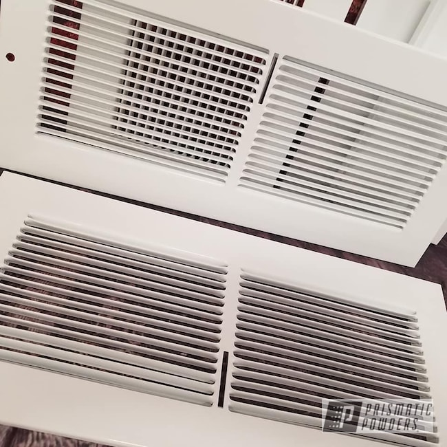 Powder Coating: Gloss White PSS-5690,Heat Registers,Miscellaneous,Household