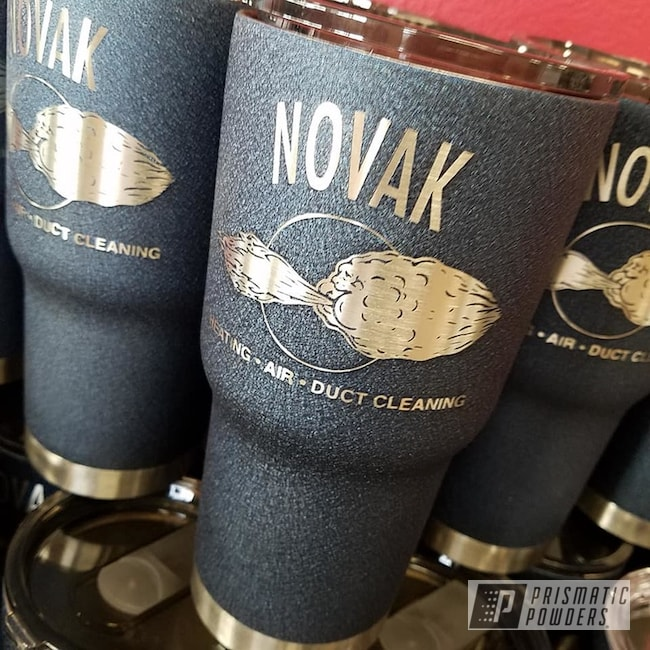 Powder Coating: Personalized,Drinkware,Textured Finish,Splatter Midnight PWB-2880,Custom Cup,20oz Tumbler,Textured
