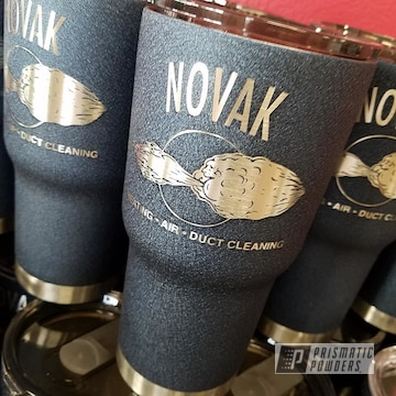 Custom Powder Coated Drinkware