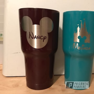 Powder Coated Tumbler Cups