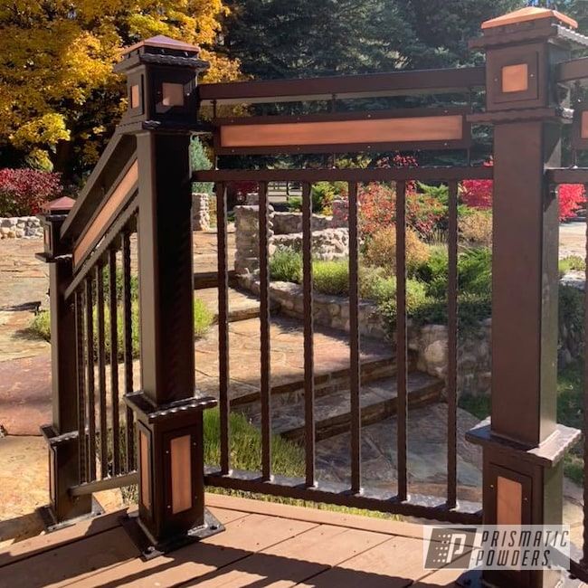Powder Coating: Illusion True Copper PMB-10044,Railings,Upgrade,Clear Vision PPS-2974,Home Upgrade,Home Improvement