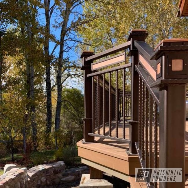 Powder Coating: Railings,Upgrade,Clear Vision PPS-2974,Illusion True Copper - DISCONTINUED PMB-10044,Home Upgrade,Home Improvement