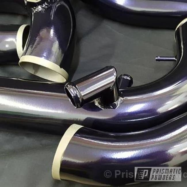 Turbo Pipes Done In Misty Purple