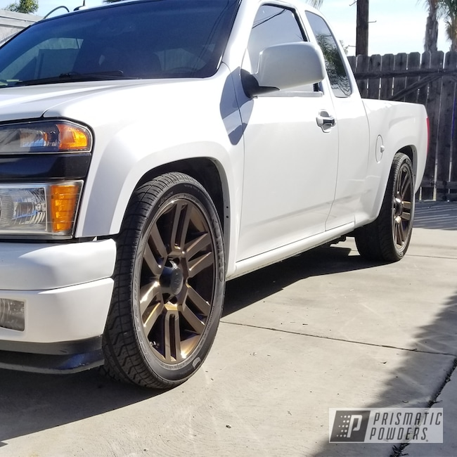 "Powder Coating: Wheels,Automotive,Monster Truck,18"",Chevrolet,18"" Wheels,Chevy,Misty Rootbeer PMB-1081"