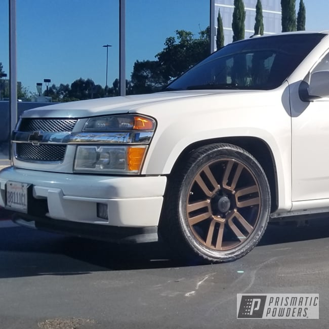 """Powder Coating: Wheels,Automotive,Monster Truck,18"""",Chevrolet,18"""" Wheels,Chevy,Misty Rootbeer PMB-1081"""