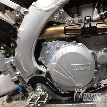 Powder Coated Yamaha Yz450f Atv Exhaust Clutch Cover