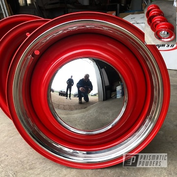 Powder Coated Ford Steel Rims