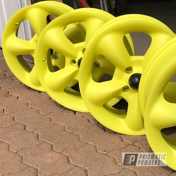 Powder Coated Allow Wheels