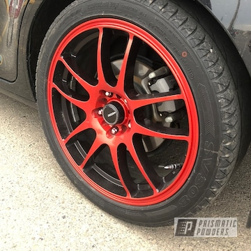 Powder Coated 18 Inch Wheels